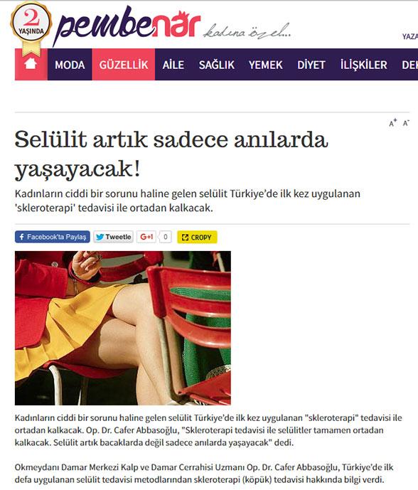 Milliyet Gazetesi - Pembe Nar Kadın Eki